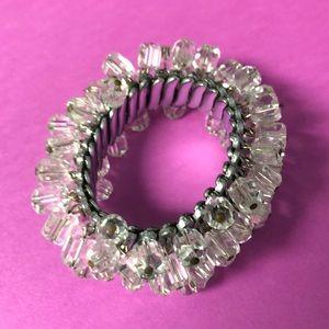 Jewelry - Vintage crystal Bracelet. Multicolored crystals